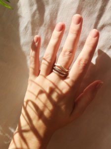 filigraner Ring Silber